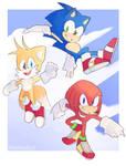 We're Sonic heroes!