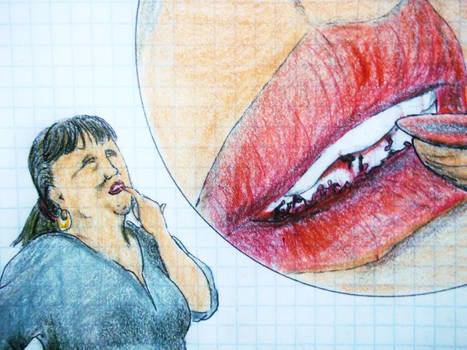 Giantess Mouth Play