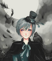 ciel phantomhive by KITTYSOPHIE