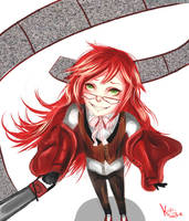 grell sutcliff by KITTYSOPHIE