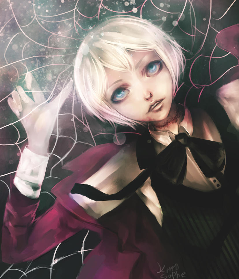 Caught in the web- Alois by kittysophie