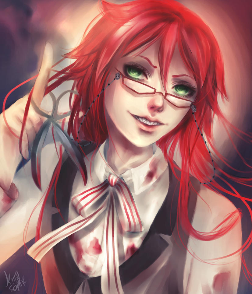 -Grell- by kittysophie