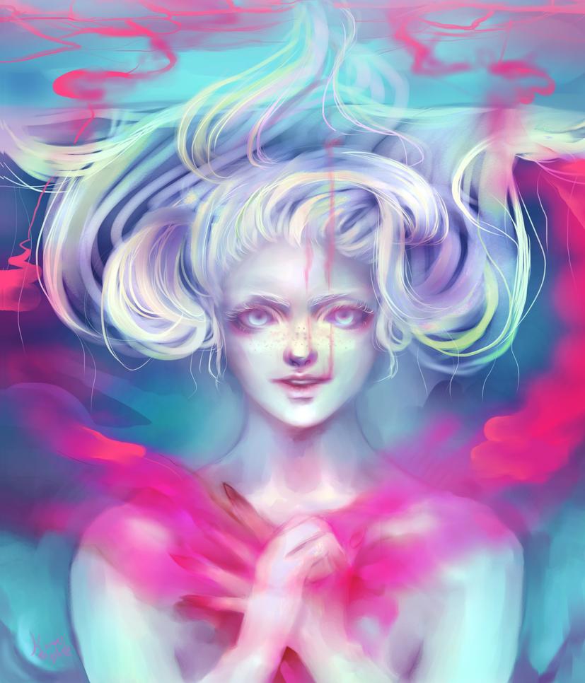+Bleeding heart+ by kittysophie