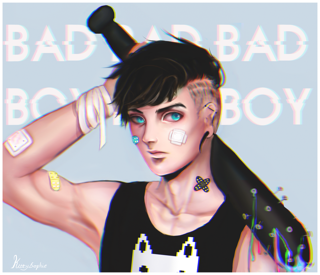 BAD BOY by kittysophie