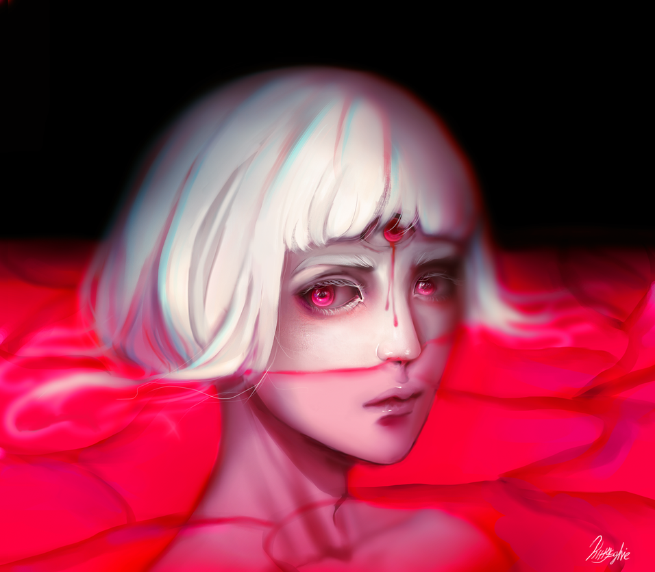 Red ocean by kittysophie