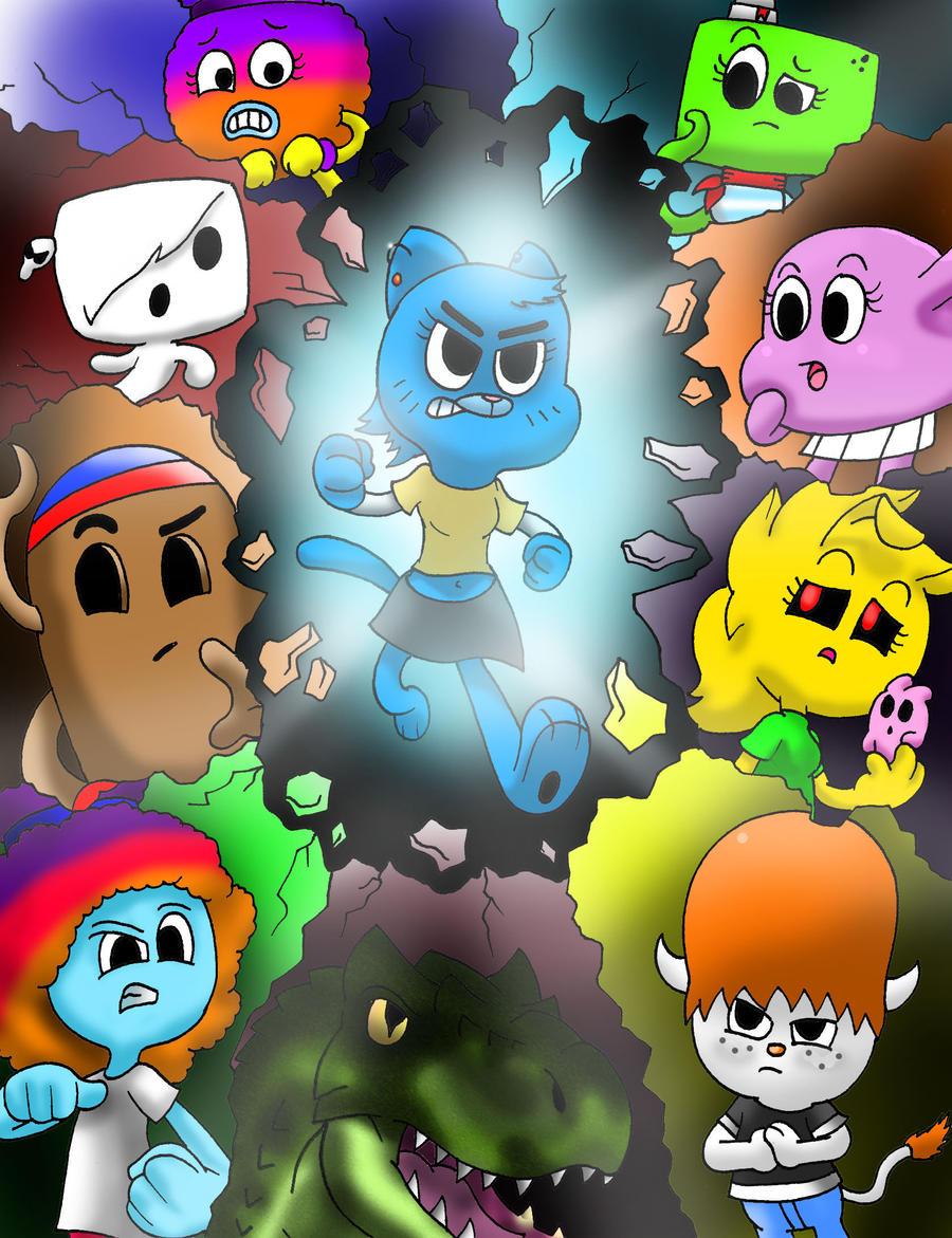 Team Gumbelle Cover Variant By Waniramirez On Deviantart