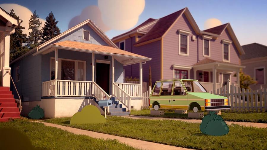 The Watterson's House by WaniRamirez