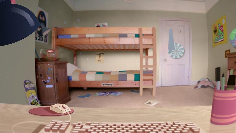 Gumball's Room by WaniRamirez
