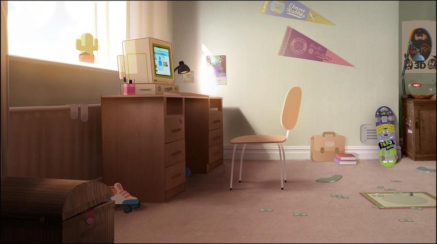 Gumball's Room 2 by WaniRamirez