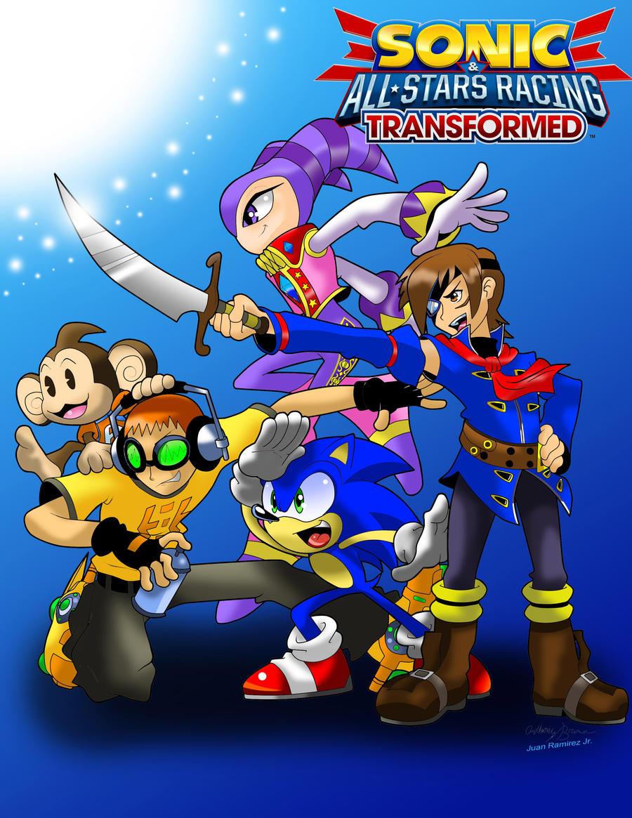 Sonic and SEGA All-Stars by WaniRamirez