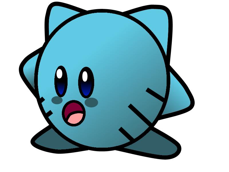 Gumball Kirby by WaniRamirez