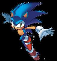 Sonic by WaniRamirez