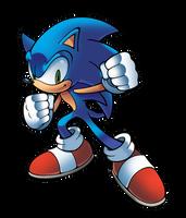 Sonic the Hedgehog by WaniRamirez