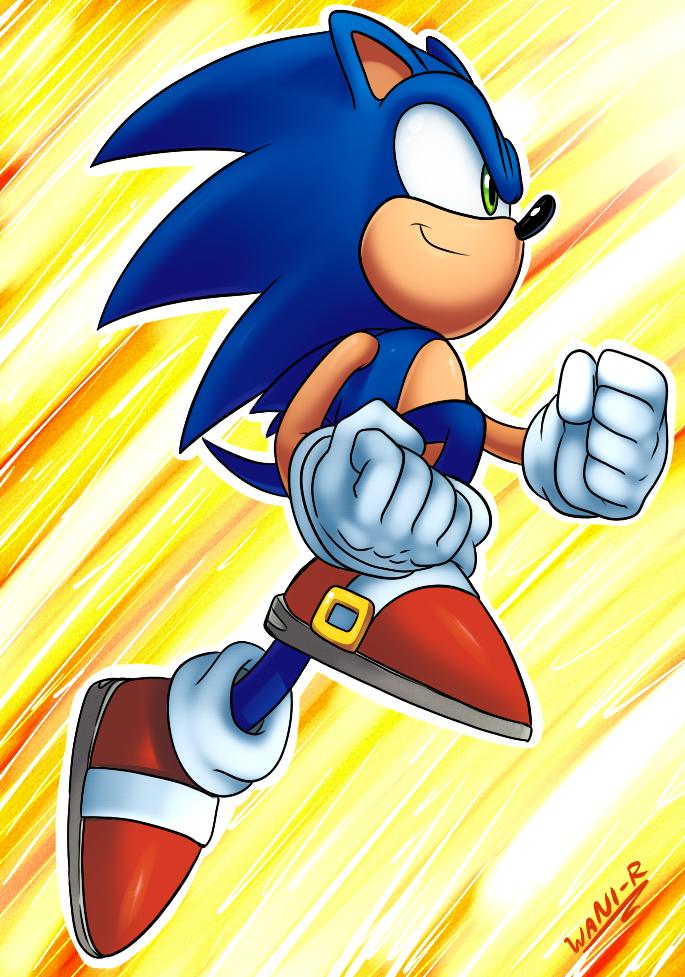 Sonic Jump by WaniRamirez