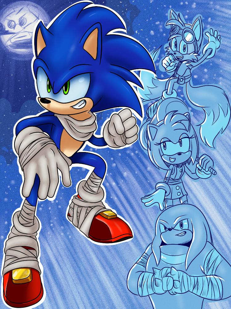 Sonic Boom by WaniRamirez