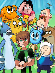 Currently on Cartoon Network... by WaniRamirez