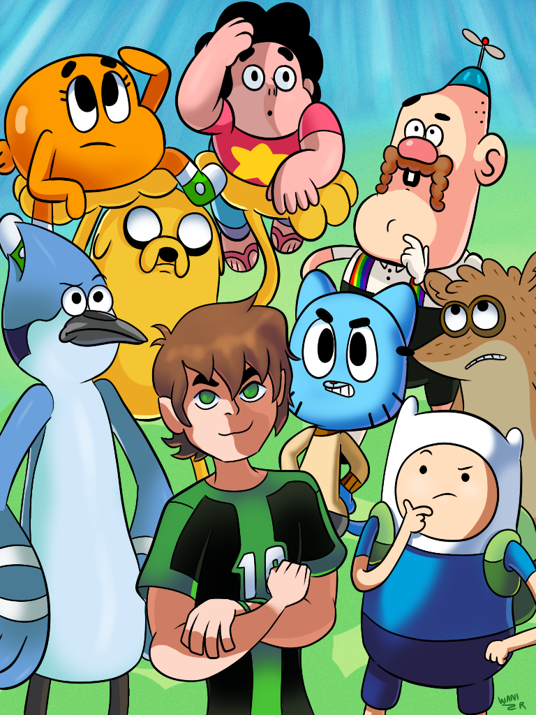 Currently on Cartoon Network... by WaniRamirez on DeviantArt
