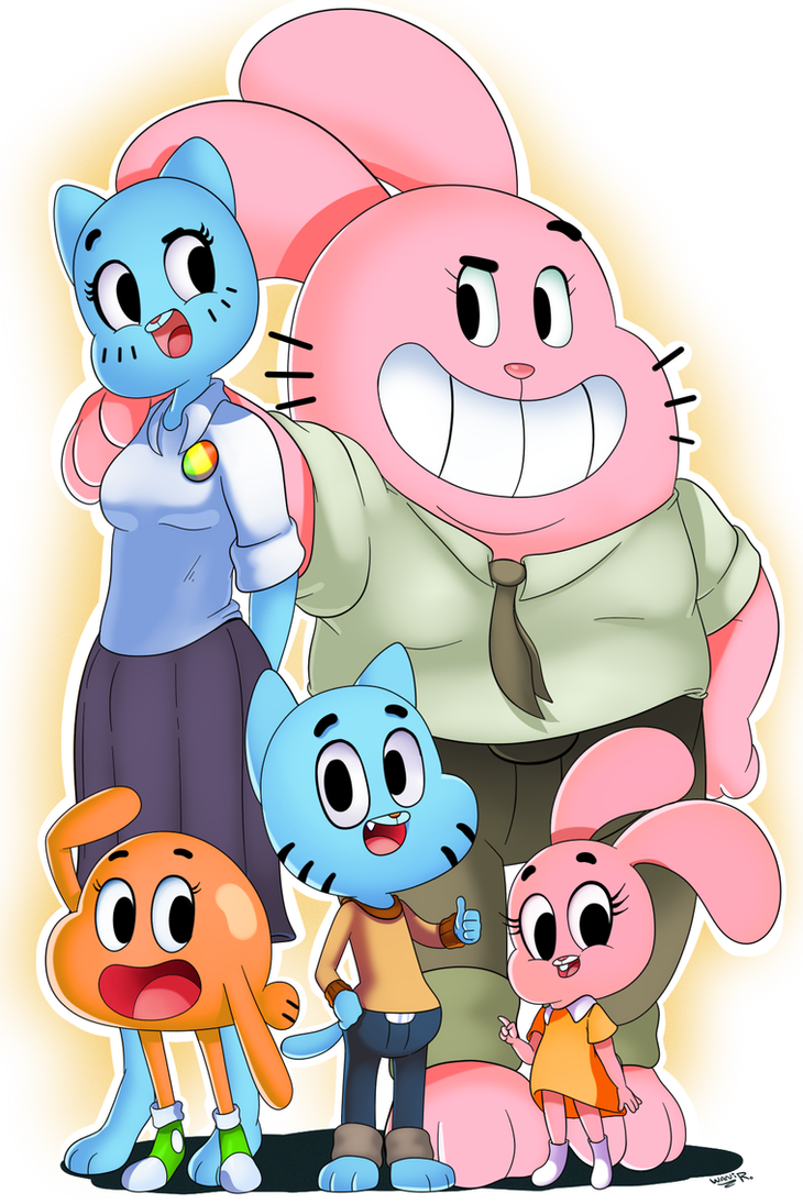 The Amazing World of Gumball by WaniRamirez