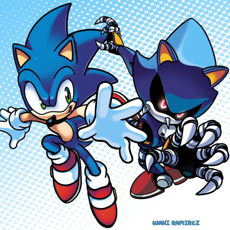 Group Of Sonic Vs Metal By