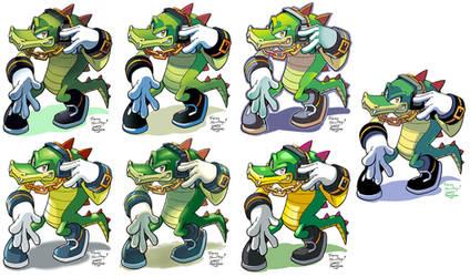 Yardley's Vector the Crocodile