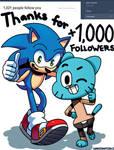 TUMBLR +1,000 Followers