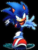 Neo Sonic by WaniRamirez