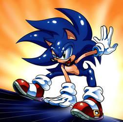 Archie Sonic Early 2000s by WaniRamirez