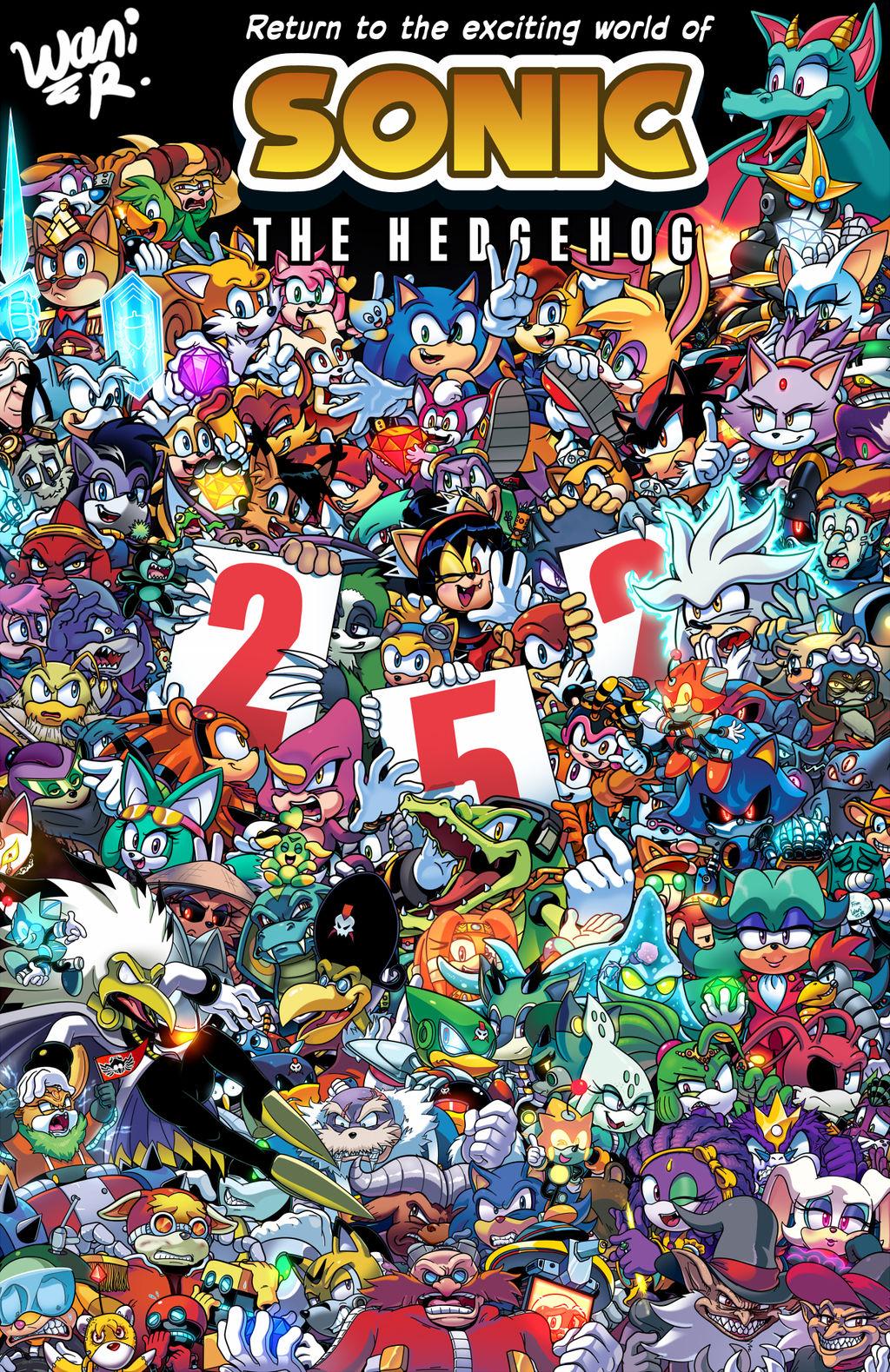 Sonic The Hedgehog Volume 2 Cover By Waniramirez On Deviantart