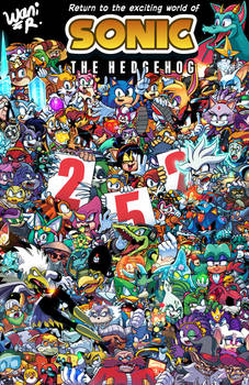 SONIC THE HEDGEHOG VOLUME 2 Cover