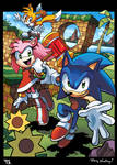 Sonic, Tails and Amy