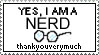 nerd :3 by spidermonkey-lol