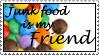 Food is my Friend by spidermonkey-lol
