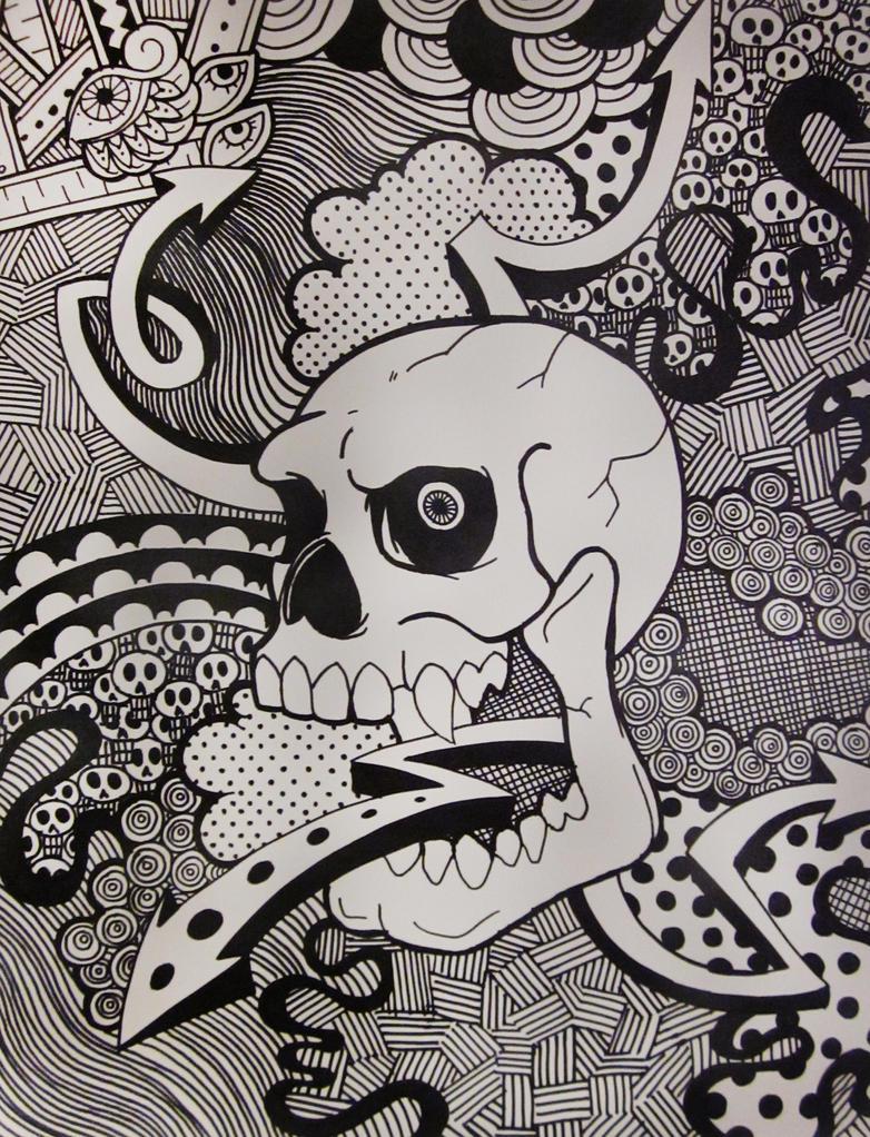 Image Gallery Sharpie Doodles