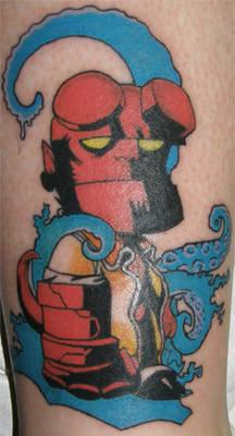 Hellboy tat