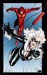 Daredevil and Blackcat