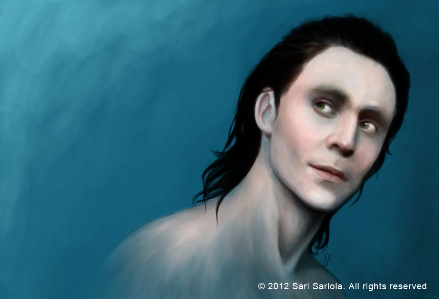 Tom Hiddleston as Loki by SariSariola