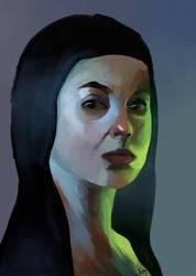 Bride of Frankenstein by SariSariola