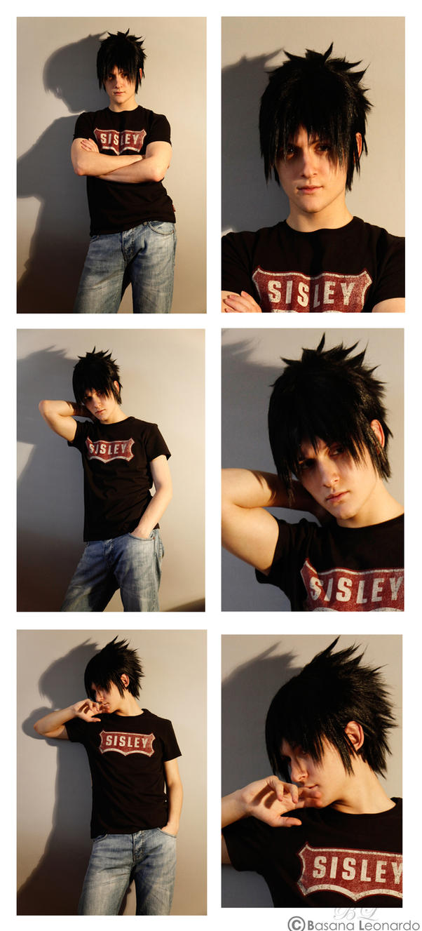 Sasuke Wig Restyled by Leox90