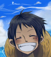Luffy~ by Icemariposa
