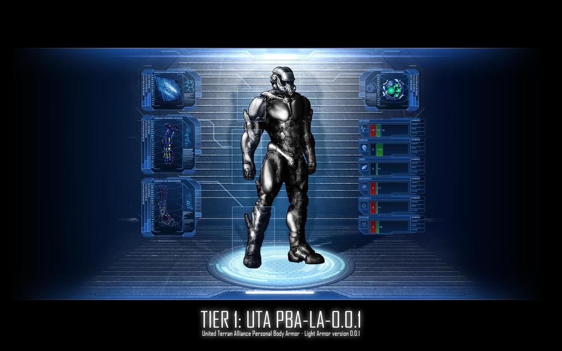 Armor: UTA T1-Light by Equiliari