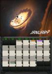 2020 Calendar - January