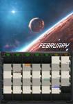 2020 calendar - February