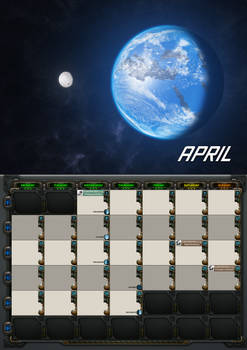 2020 calendar - April