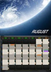 2020 calendar - August