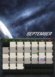 2020 calendar - September