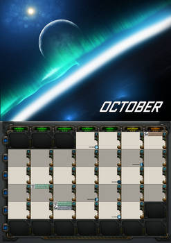 2020 calendar - October