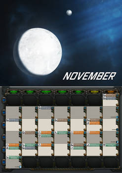 2020 calendar - November
