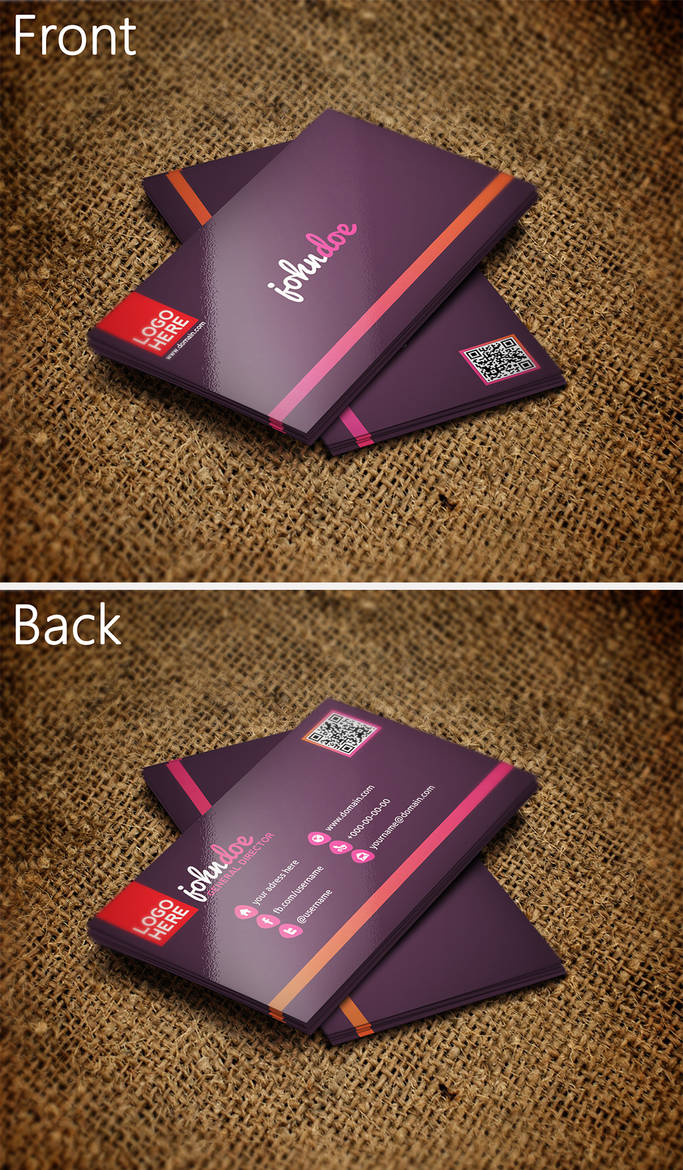 Colorful Business Card 2 by SMHYLMZ