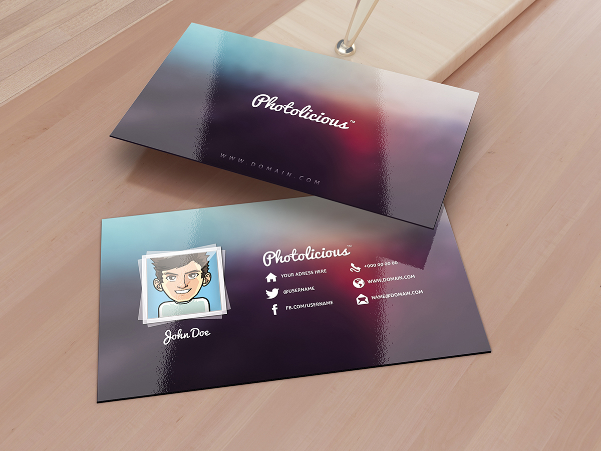 Photographer Business Card by SMHYLMZ on DeviantArt