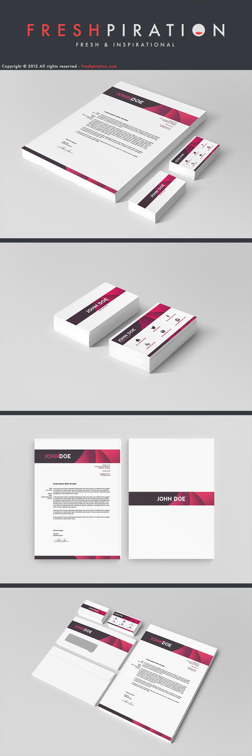 Creative Corporate Identity by SMHYLMZ